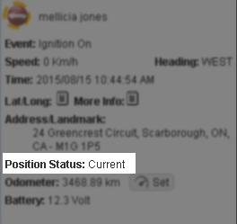 current position